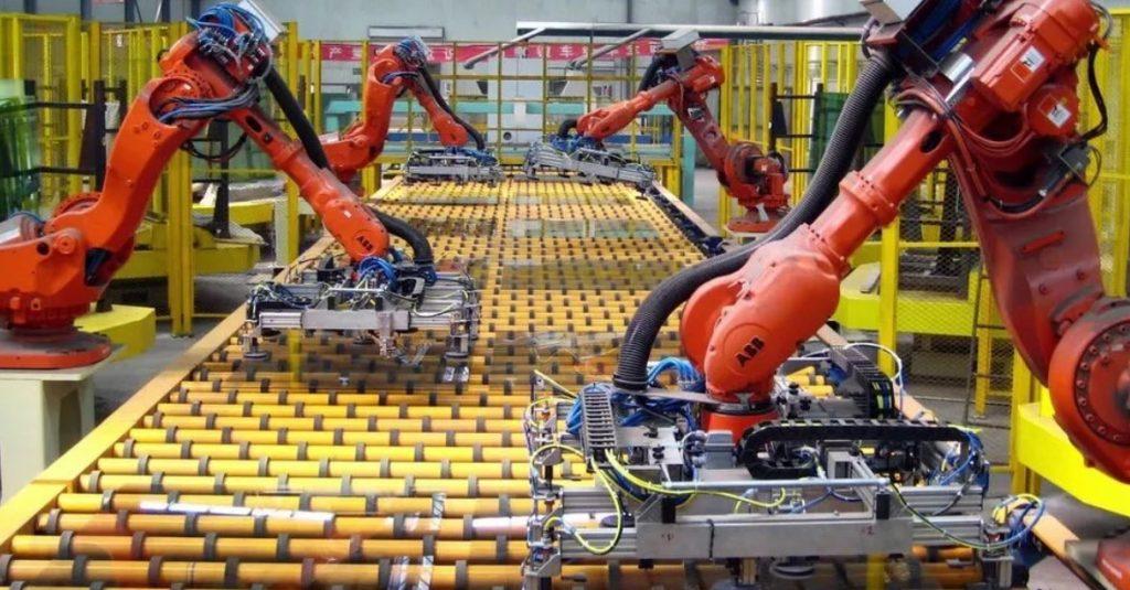 Работа машин автоматизация