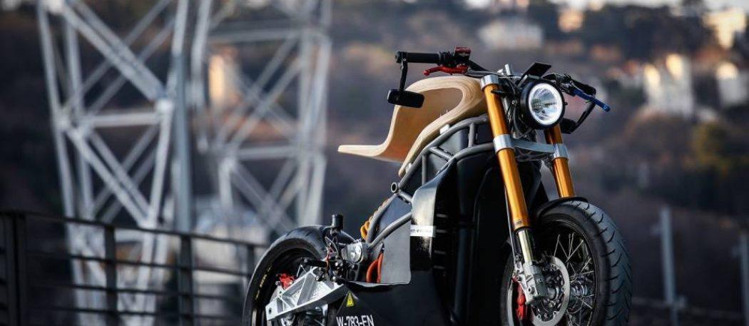 E-Raw: электрический мотоцикл, который пробуждает чувства