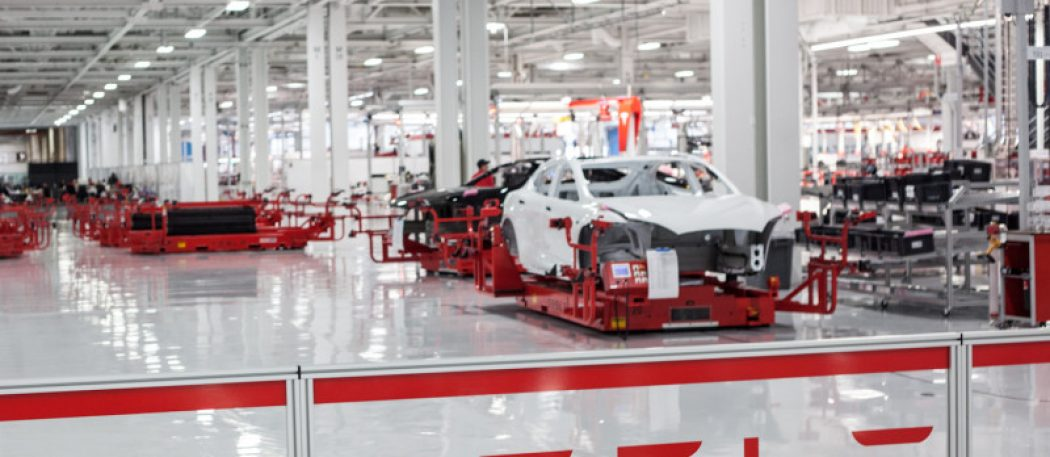 Компания тесла прерывает производство модели Tesla Model 3